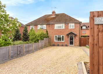 Thumbnail 3 bed semi-detached house to rent in Reading Road, Winnersh, Wokingham, Berkshire