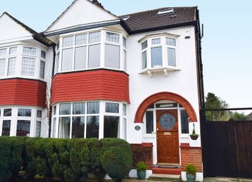 Thumbnail 4 bed semi-detached house for sale in Links Road, West Wickham, Kent