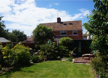 Thumbnail 3 bed semi-detached house for sale in Newstead Road, Weymouth