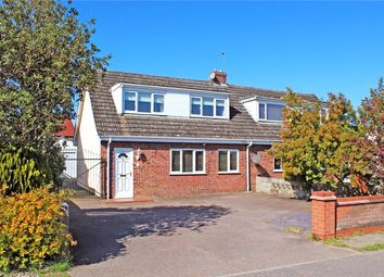 Thumbnail 3 bed semi-detached house for sale in Norwich Road, Poringland, Norwich, Norfolk
