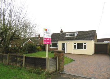 Thumbnail 3 bed detached bungalow for sale in Messingham Road, Scotter, Gainsborough
