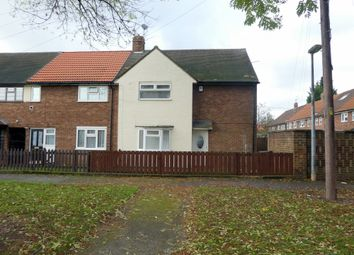 Thumbnail 3 bedroom end terrace house to rent in Brent Avenue, Longhill, Hull, East Riding Of Yorkshire