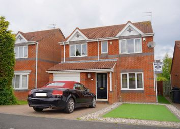 Thumbnail 4 bed detached house for sale in Ayton Court, Bedlington