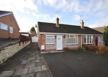 Thumbnail 2 bed semi-detached bungalow for sale in Cookesmere Lane, Sandbach
