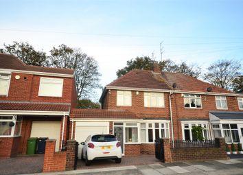 Thumbnail 3 bed semi-detached house for sale in Deepdene Road, Seaburn, Sunderland