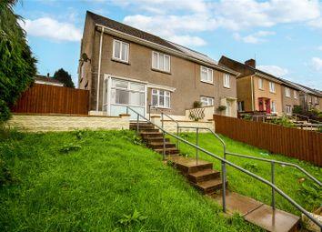 Thumbnail 3 bed semi-detached house for sale in Bryn Deri, Ebbw Vale, Blaenau Gwent