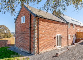 Thumbnail 3 bedroom barn conversion for sale in Plot 2, Upper Pen Y Gelli Farm, Kerry, Powys