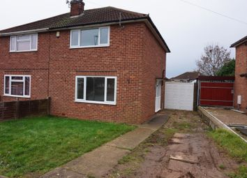 Thumbnail 2 bed semi-detached house to rent in Woodcote Road, Braunstone Town