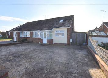Thumbnail 3 bed semi-detached bungalow for sale in Thirlmere Crescent, Sompting, West Sussex