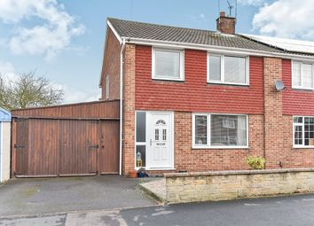 Thumbnail 3 bed semi-detached house for sale in Nicholas Close, Spondon, Derby