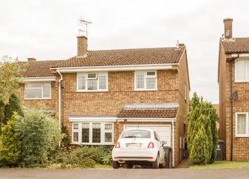 Thumbnail 4 bedroom semi-detached house for sale in Dolphin Close, Linton, Cambridge