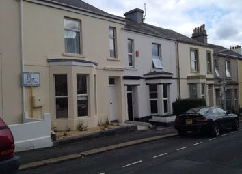 Thumbnail 5 bed town house to rent in Furzehill Road, Mutley, Plymouth