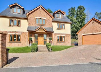 Thumbnail 6 bed detached house for sale in Captains Hill, Trelewis, Treharris