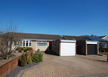 Thumbnail 2 bedroom semi-detached bungalow for sale in Melness Road, Hazlerigg, Newcastle Upon Tyne
