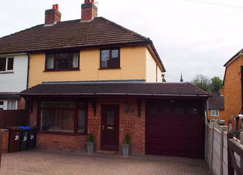 Thumbnail 3 bed semi-detached house for sale in Challinor Avenue, Leek