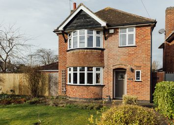 Thumbnail 3 bed detached house for sale in Holme Drive, Leicestershire, Oadby