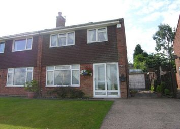 Thumbnail 3 bed semi-detached house to rent in Foley Road West, Streetly, Sutton Coldfield