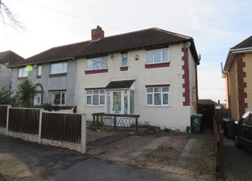 Thumbnail 3 bed semi-detached house for sale in Bristnall Hall Road, Oldbury