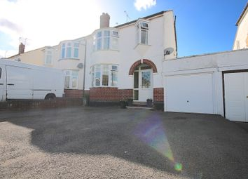 Thumbnail 4 bed semi-detached house for sale in Salisbury Avenue, Coventry
