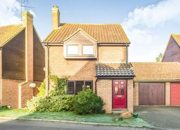 Thumbnail 3 bed detached house for sale in Elm Farm Close, Clifton, Shefford