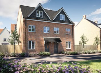 "Thumbnail 3 bed semi-detached house for sale in ""The Chastleton"" at Winchester Road, Boorley Green, Botley"