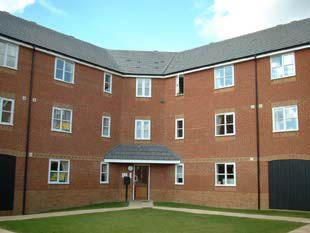 Thumbnail 2 bed flat to rent in Riverbank Way, Ashford