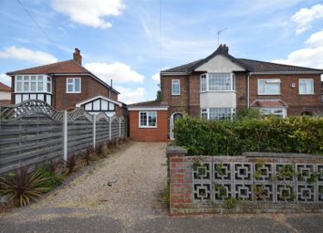 Thumbnail 3 bed property for sale in Reepham Road, Hellesdon, Norwich