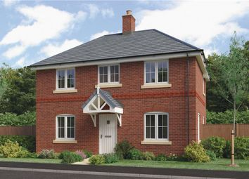 "Thumbnail 3 bed detached house for sale in ""Bretby"" at Barnards Way, Kibworth Harcourt, Leicester"