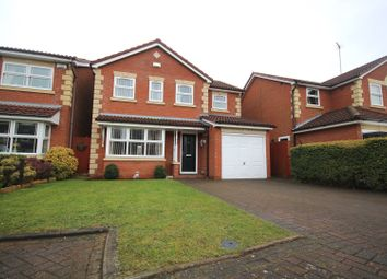 Thumbnail 4 bed detached house for sale in Hulme Close, Coventry