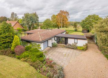 Thumbnail 3 bed detached bungalow for sale in Flempton, Bury St. Edmunds, Suffolk