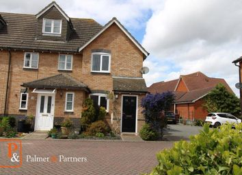 Thumbnail 2 bed end terrace house to rent in Darter Close, Ipswich