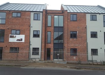 Thumbnail 1 bed flat to rent in Burgess Road, Leicester
