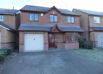 Thumbnail 4 bed detached house to rent in Cowan Drive, Stafford