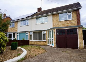 Thumbnail 3 bed semi-detached house for sale in Edinburgh Avenue, Peterborough