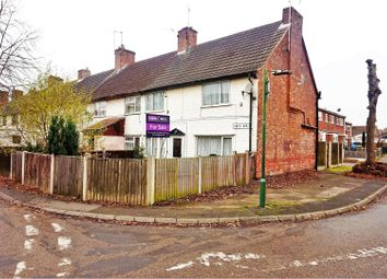 Thumbnail 3 bed end terrace house for sale in First Avenue, Mansfield