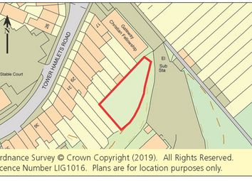 Thumbnail Land for sale in Tower Hamlets Road, Dover