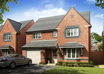 "Thumbnail 4 bedroom detached house for sale in ""Heathfield"" at Church Road, Webheath, Redditch"
