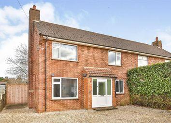 Thumbnail 3 bed semi-detached house for sale in Blenheim Road, Sculthorpe, Fakenham