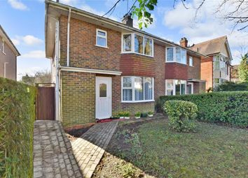 Thumbnail 3 bed semi-detached house for sale in Victoria Road, Horley, Surrey