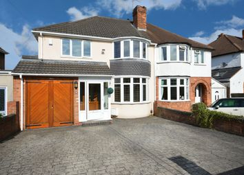 Thumbnail 3 bedroom semi-detached house for sale in Dunard Road, Shirley, Solihull