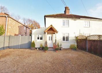 3 bed semi-detached house for sale in Bunwell Road, Spooner Row, Wymondham, Norfolk NR18