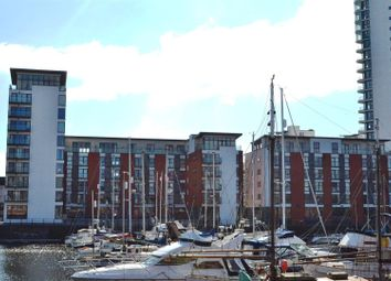 Thumbnail 3 bedroom flat for sale in 38 Meridian Wharf, Marina, Swansea