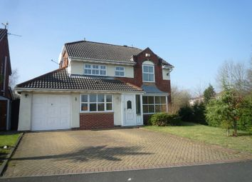 Thumbnail 4 bed detached house to rent in Reedley Drive, Worsley
