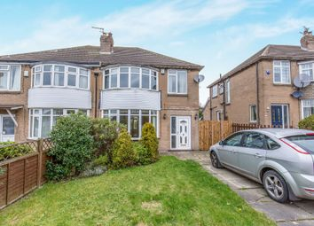 Thumbnail 3 bed semi-detached house for sale in Carr Manor Road, Leeds