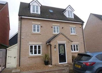 Thumbnail 5 bed detached house to rent in Hartree Way, Kesgrave, Ipswich