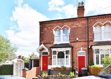 Thumbnail 3 bed end terrace house for sale in Rose Road, Harborne, Birmingham