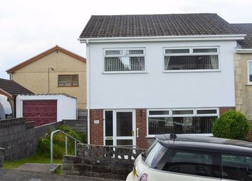 Thumbnail 3 bed semi-detached house for sale in Waun Gron Road, Swansea