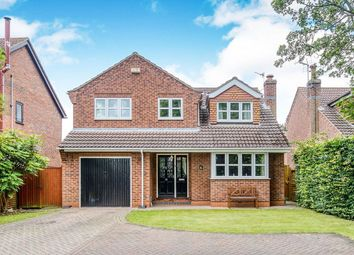 Thumbnail 4 bed detached house for sale in Station Road, Great Coates, Grimsby