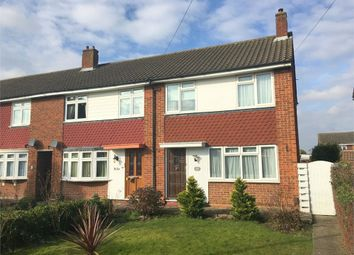Thumbnail 3 bed end terrace house for sale in Ruxley Lane, West Ewell, Epsom