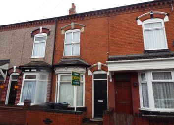 Thumbnail 2 bed terraced house for sale in Percy Road, Birmingham, West Midlands